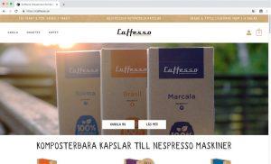 vbcd hemsidor caffesso första sida exempel